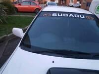 Impreza turbo swaps