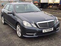 2013 Mercedes Benz E CLASS 2.1 cdi auto sport, mot - February 2018, only 48,000 miles,audi,bmw,vw,
