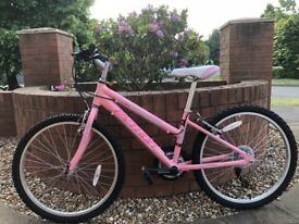 "Pink Python Junior Rock Bike - 24"" wheels"