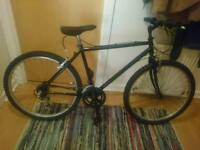 Black bike in excellent condition