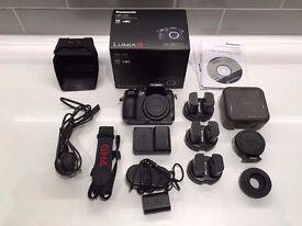 Panasonic GH4 & Metabones Speedbooster + 6 batteries and accessories