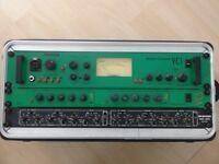 Studio equipment - Joemeek VC 1 VC5, Boss SE70, Roland Space Echo RE3, SKB Shallow Rack