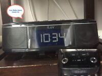 iLuv Radio Alarm clock £10