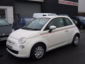 FIAT 500 POP 2008 58 REG IN WHITE,BARGAIN £2495 £30 A YEAR TAX,PX WELCOME