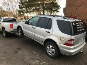 WE PAY $500 CASH FOR 1999-2010 MERCEDES ML | CASH 4 UNWANTED CARS CALL OR TXT 416-904-7840