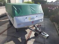 Conway trailer tent / folding camper