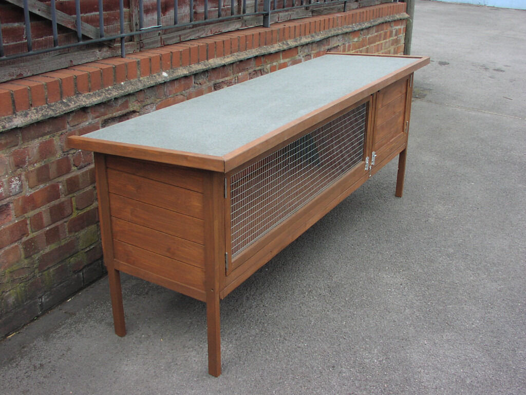 Brand new extra large rabbit hutch 6ft long x 32 height for Extra large rabbit cage