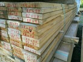 5x1 Sawn Timber (125mm x 25mm) 4.2mtr Lengths