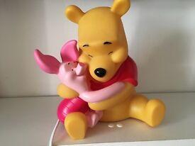 Rare Winnie the Pooh bedside lamp