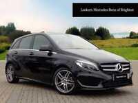 Mercedes-Benz B Class B 200 D AMG LINE PREMIUM (black) 2017-09-29