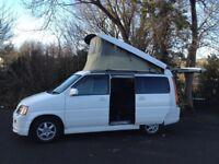 MODERN HI SPEC HONDA STEP WAGON FIELD DECK LIFT TOP DAY SURF MPV BUS/CAMPER/ALLOYS/mazda bongo