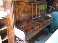 Walnut piano