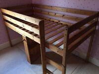 Pine Mid sleeper/ cabin bed