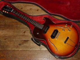 Gibson ES-125TDC hollowbody 1966 with Bare Knuckle pickups