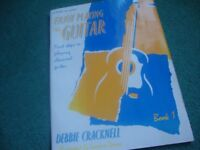 Enjoy Playing the Guitar by Debbie Cracknell Book 1
