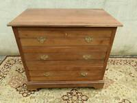 Cherry wood chest of drawers