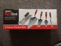 5 Piece Trowel Set, used once £15 ONO