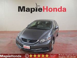 2013 Honda Civic LX| Power Group, Bluetooth, 5-Speed Manual!