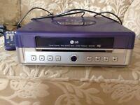 LG video cassette recorder/ Player