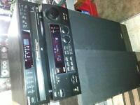 HOME STERIO SYSTEM/JVC AMP/SONY 5 DISC PLAYER/FESHER TOWER 3 WAY