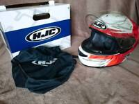 Like new HJC motorcycle helmet