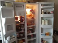 American Fridge Freezer with Ice and Water good working condition £100 must go tomm 17th