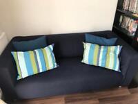 Ikea Klippan 2 seater sofa + 4 cushions
