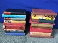 20 old books for £10