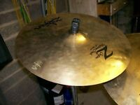 "Avedis Z custom 21"" ride cymbal in mint condition."