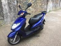 FULLY WORKING 2009 Yamaha Cygnus 125cc learner Scooter 125 cc with 1 years MOT.