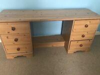 Vanity desk/draws £10 sell asap
