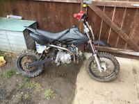 110 pitbike swap for a 50cc pitbike