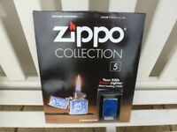 ZIPPO LIGHTER Issue No: 5 + Magazine (Collectors item)