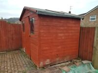 Free garden shed for collection