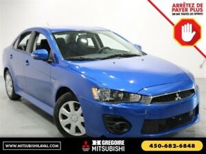 2017 Mitsubishi Lancer ES CVT Bluetooth Camera A/C Sieges-Chauf