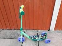 Ninja Turtle 3 wheel scooter
