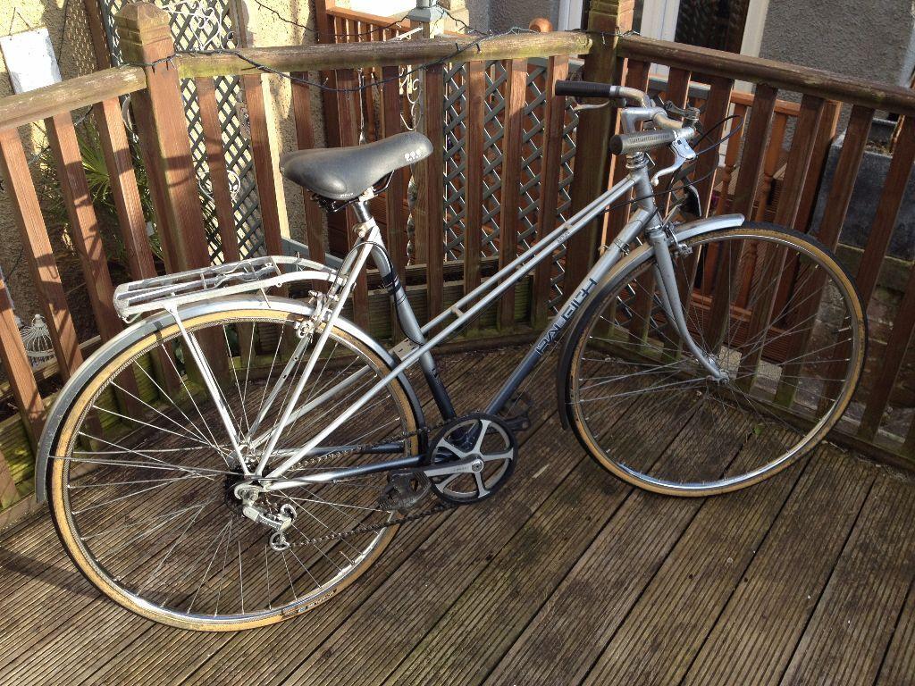 vintage ladies raleigh nova bike classic mixte frame - Mixte Frame