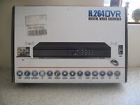 bran new boxed 16ch cctv system with 2 camers and new boxed monitor