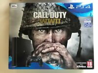 Sony Playstation 4 WW2 bundle - 5 games - boxed in mint condition