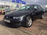 2001 Y REG SEAT LEON 1.6 NICE DRIVE IDEAL RUNAROUND CAR WILL BE SOLD WITH NEW MOT !!!