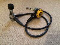 Diving equipment..Aqualung / Spiro pony regulator set