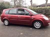 RENAULT GRAND SCENIC 1.5 DCI DYNAMIQUE 7 SEATS SERVICE HISTORY..HPI CLEAR STARTS DRIVES EXCELLENT