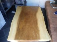 Solid wood Coffee table new not used.