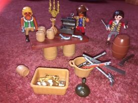 Various Playmobil sets (hardly touched!)