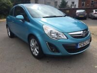 VAUXHALL CORSA 1.2 ACTIVE F/S/H 1 ST OWNER ALLOYS 2011