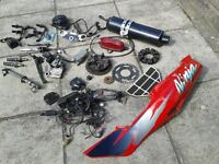 Kawasaki ZX6R Ninja spare parts .. job lot