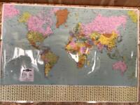 Map marketing world political map
