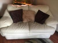 3 seater 2 seater leather suite