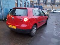 VOLKSWAGEN GOLF 1.9 SDI SPARES OR REPAIR HPI CLEAR F/S/H LOW MILLEAGE STARTS & DRIVES CHEAP EASY FIX