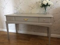 Vintage Stag Dressing Table 3 Drawer/Sideboard Shabby Chic Painted Farrow & Ball
